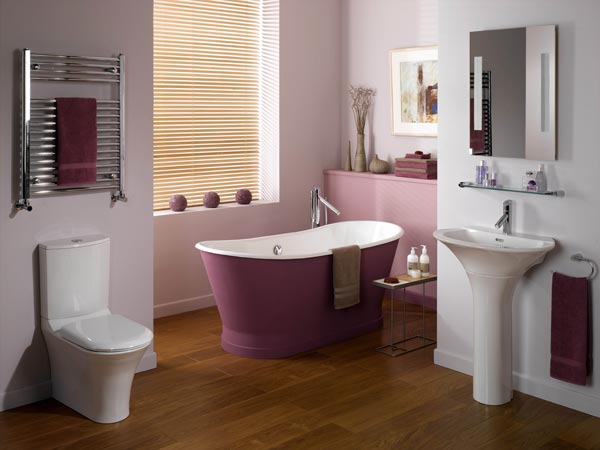 bathroom-sweet-interior-designed-bathrooms-with-stylish-toilet-and-washbasin-also-beautiful-purple-bathtub-combined-with-wooden-floor-ideas-picturesque-interior-designed-bathrooms-ideas-collection
